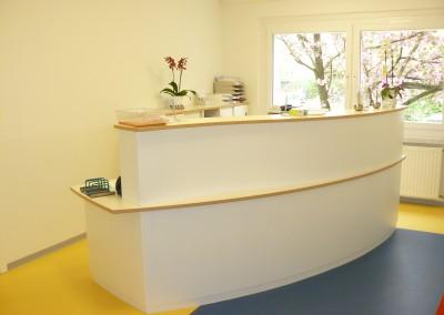 Neugestaltung einer Arztpraxis in Dresden
